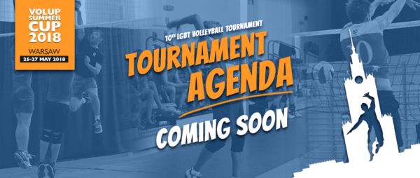 Tournament Agenda - coming soon
